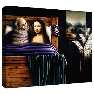 ArtWall 'Leo and Mona' by Graham Dean Graphic Art on Wrapped Canvas; 24'' H x 32'' W x 2'' D