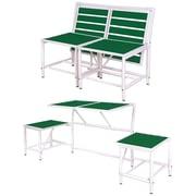 EsschertDesign My Balconia Convertible Bench; Green