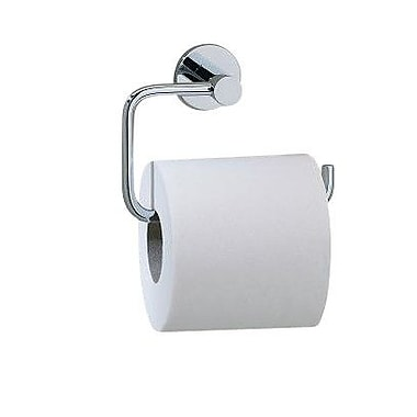 Valsan Porto Wall Mounted Toilet Paper Holder; Polished Nickel