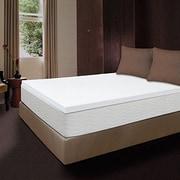 Luxury Home Memory Foam Mattress Topper; Queen
