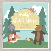 """2017 TF Publishing 12"""" x 12"""" Baby's First Year Woodland Wall Calendar Non-Dated (17-1100)"""