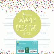 "TF Publishing 7.75"" x 7.75"" Sprinkles Weekly Desk Pad (20-0234)"
