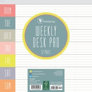 "TF Publishing 7.75"" x 7.75"" Glory Days Weekly Desk Pad (20-0265)"