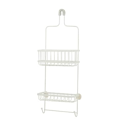 Honey Can Do Premium Shower Caddy, White (BTH-03298)