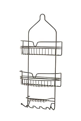 Honey Can Do Oil Rubbed Bronze Shower Caddy, Bronze (BTH-03299)