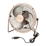 Honey Can Do USB Powered Desk Fan, Bronze (OFC-04475)