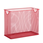 Honey Can Do Mesh Tabletop File, Red (OFC-04859)
