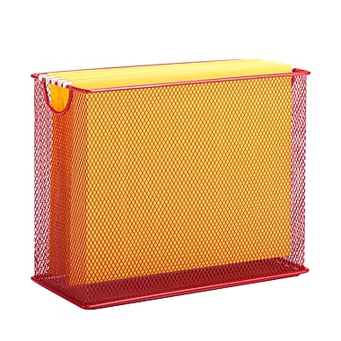 Honey-Can-Do Table Top File, Red (OFC-04859)