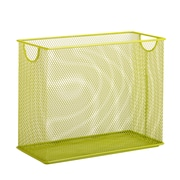 Honey Can Do Mesh Tabletop File, Green (OFC-04873)