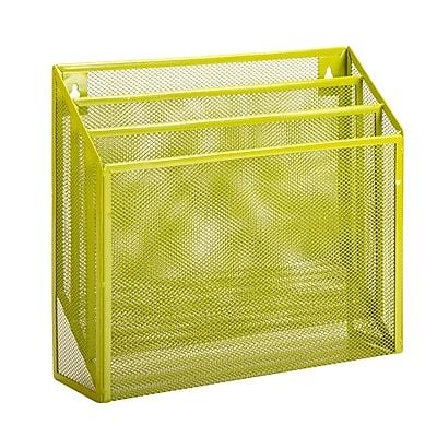 Honey Can Do Vertical File Sorter, Green (OFC-04875)