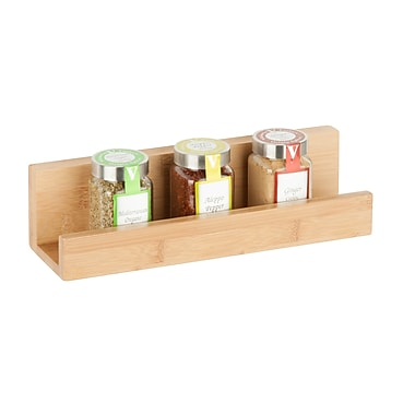 Honey-Can-Do Bamboo Wall Shelf, Natural (SHF-04378)