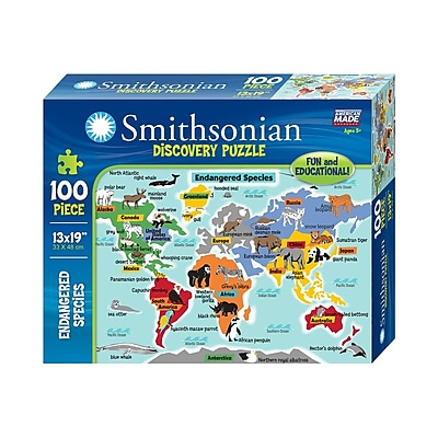 Smithsonian Discovery Jigsaw Puzzle - Endangered Species (06412)