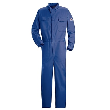Bulwark Classic Welding Coveralls, Size 50, Royal Blue (CEC2RB-RG-50)