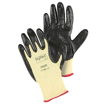Ansell SAW932 Kevlar® HyFlex® 11-500 Gloves, Small (7), 15 Gauge, 6/Pairs
