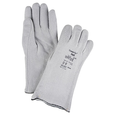 Ansell SAY861 Coated Gloves, Nitrile Coated, Heat Insulated, Slip-On, 14