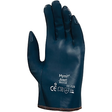 Ansell SAY797 Coated Gloves, Nitrile Impregnated, Slip-On, Perforated Back, Size 8, 36/Pairs