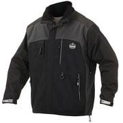 Ergodyne – Manteau extérieur de poids thermique, moyen, noir (41103)