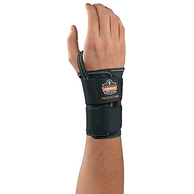 Ergodyne ProFlex® 4010 Double Strap Wrist Support, Large, Black (70026)