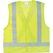 Zenith Safety Products CSA Compliant Traffic Safety Vest, High Visibility Lime-Yellow