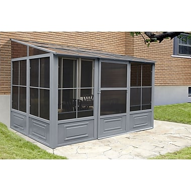 Gazebo Penguin (W1209) Add A Room 4 Season Solarium, 12' X 10'