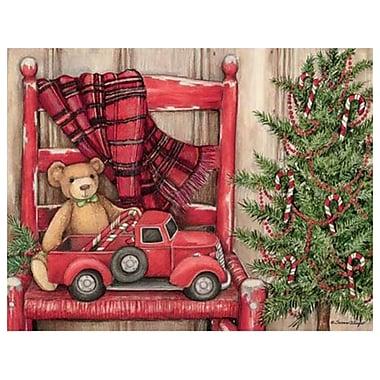 LANG – Cartes de Noël, ours assis sur une chaise (1004773)