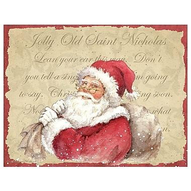 LANG Old Saint Nick Boxed Christmas Cards, (1004775)