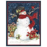 LANG Snowman Scarf Boxed Christmas Cards, (1004689)
