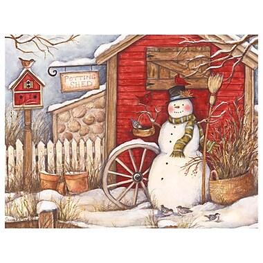 LANG Winter Barn Boxed Christmas Cards, (1004693)