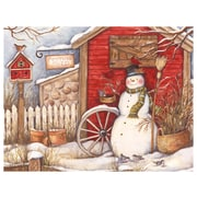 LANG Winter Barn Boxed Christmas Cards, (1004693)