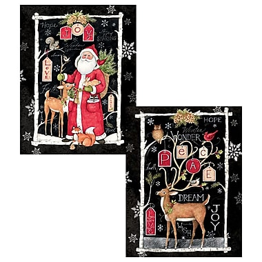 LANG Woodland Christmas Assorted Boxed Christmas Cards, (1008109)