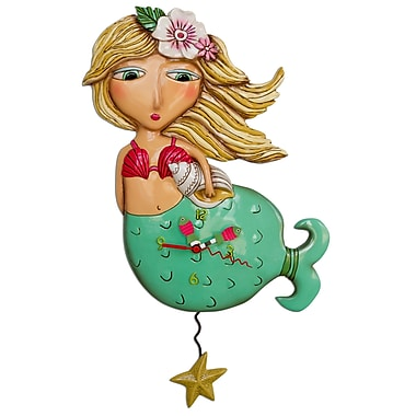 Allen Designs ADP1610 Mermaid Clock