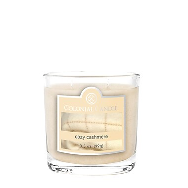 Colonial Candle 3.5 oz. Oval Jar, Cozy Cashmere, 2/Pack (CC0351749)