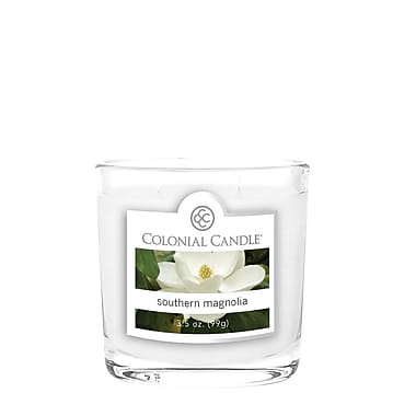 Colonial Candle 3.5 oz. Oval Jar, Southern Magnolia, 2/Pack (CC0352179)