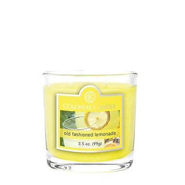 Colonial Candle 3.5 oz. Jar, Old Fashioned Lemonade, 2/Pack (CC0353559)