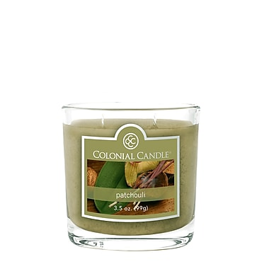 Colonial Candle 3.5 oz. Jar, Patchouli, 2/Pack (CC0353837)