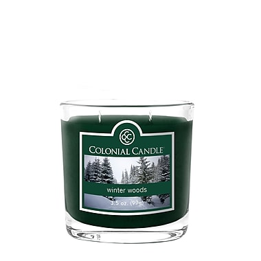Colonial Candle 3.5 oz. Jar, Winter Woods, 2/Pack (CC035706 )