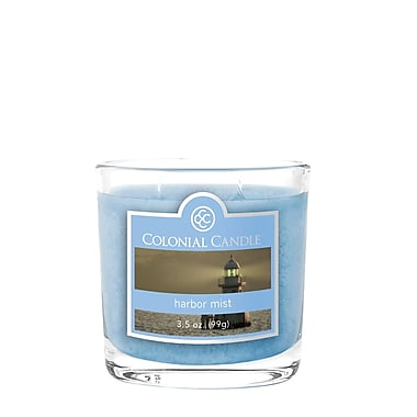 Colonial Candle – Bougie CC035920 et pot de 3,5 oz, brume marine, paq./6