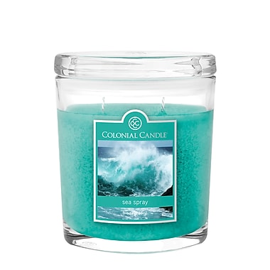 Colonial Candle 8 oz. Oval Jar, Sea Spray, 2/Pack (CC0081899)