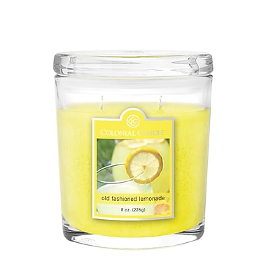 Colonial Candle – Pot de 8 oz CC0083559, limonade à l–ancienne, paq./2