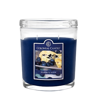 Colonial Candle 8 oz. Jar, Blueberry Scone, 2/Pack (CC0083825)