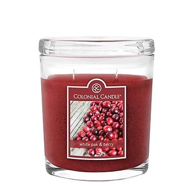 Colonial Candle – Bougie de 8 oz avec pot, 4/paquet