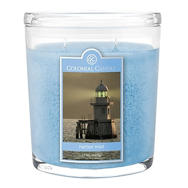 Colonial Candle 8 oz. Jar, Harbor Mist, 2/Pack (CC008920 )