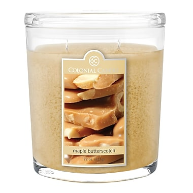 Colonial Candle 22 oz. Jar, Maple Butterscotch, 1/Pack (CC0222847)