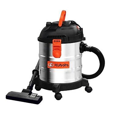 Kubota 5 Gallon Stainless Steel Wet/Dry Vacuum (12017)