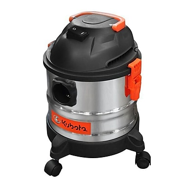 Kubota 4 Gallon Stainless Steel Wet/Dry Vacuum (12065)