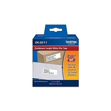 Brother DK2211 Continuous Length Film Tape, Med-Width 1-1/7