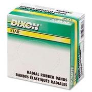 Dixon Rubber Bands, Star, 1/4 Lb., No 106, (DIX89079)