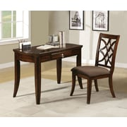 A&J Homes Studio Altra Writing Desk and Chair Set