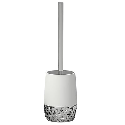 NU Steel Bali Free Standing Toilet Brush and Holder