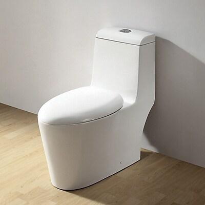 Ariel Bath Royal Dual Flush Elongated One-Piece Toilet